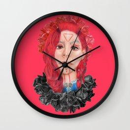 Viking goddess Wall Clock