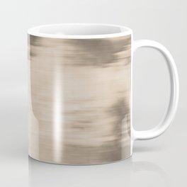 Fusion Abstract Watercolor Blend Pantone Hazelnut / Fluid Art Ink Coffee Mug