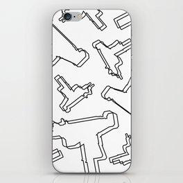 U Z I iPhone Skin