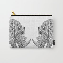 Aztec Rhino Art Carry-All Pouch