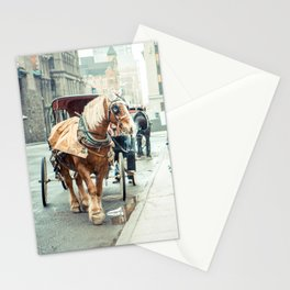 Montreal Taxi Stationery Cards
