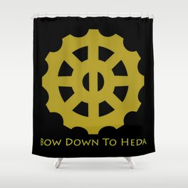 Bow Down To Heda 2 Shower Curtain