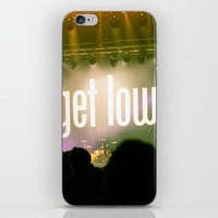 time low iPhone & iPod Skins featuring All Time Low by Melissa Wahler
