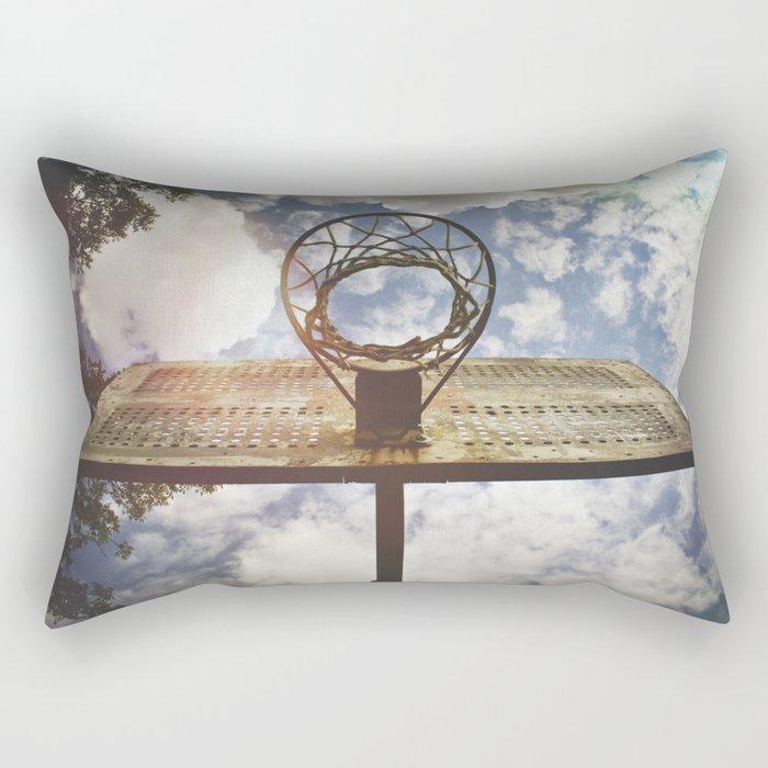 Hoosier Basketball Rectangular Pillow