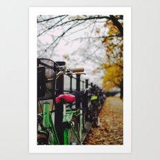 Berlin Bikes Art Print