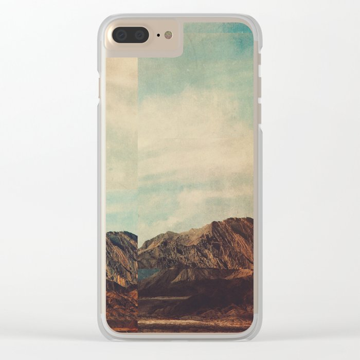 Fractions A15 Clear iPhone Case