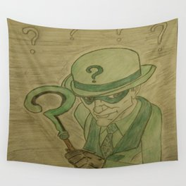 Riddle sketch Wall Tapestry