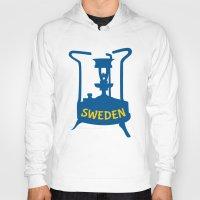 sweden Hoodies featuring Sweden | Brass Pressure Stove by mailboxdisco