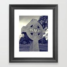 Northwest Claddagh Framed Art Print
