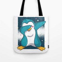 Penguin Dab Tote Bag
