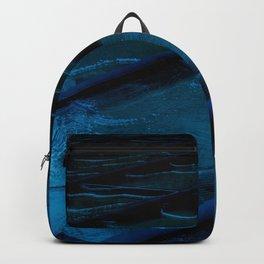 Blue Glass Waterfall Backpack