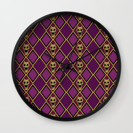 Bite The Dust Wall Clock