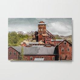 Kennecott Metal Print