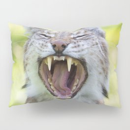Yawn Pillow Sham
