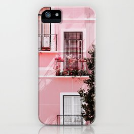 Pink Portals iPhone Case