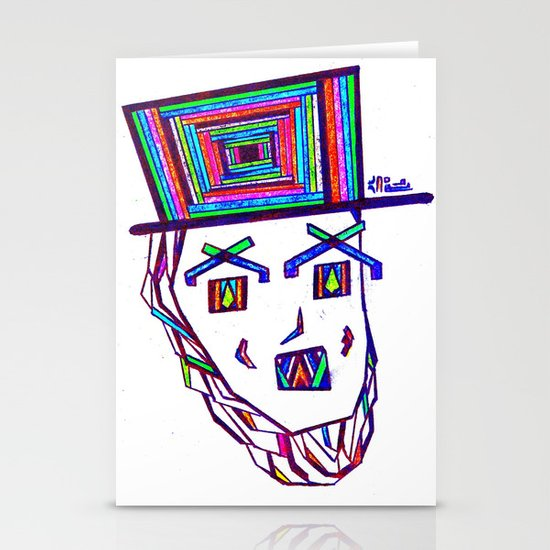 Colored Lincoln Stationery Cards