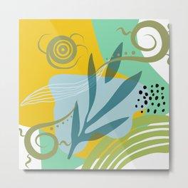 Abstract Design 5 Metal Print
