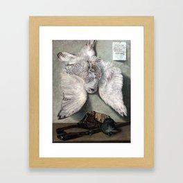 Karel Purkyně Snowy Owl Framed Art Print