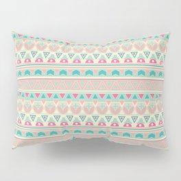 Ethnic , ornament , tribal , pastel Pillow Sham