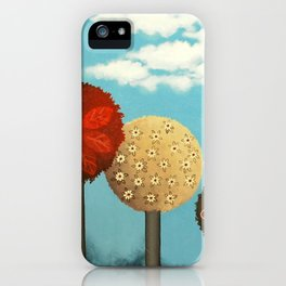 Dream grove iPhone Case