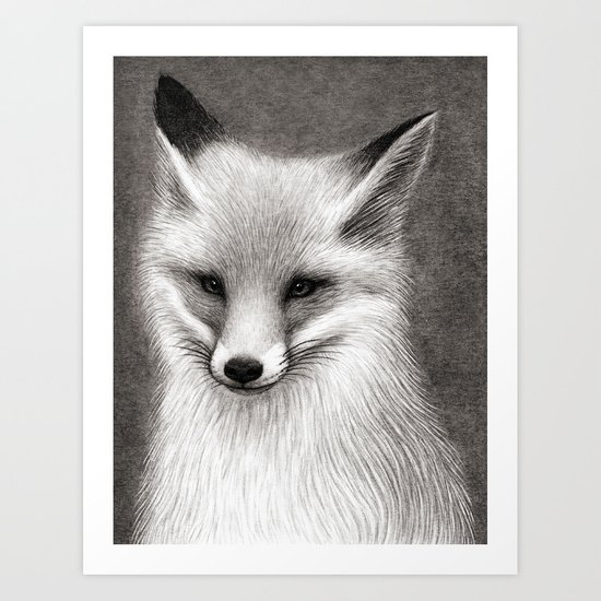 Inari the Fox Art Print