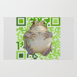 EcoQR Toad Rug