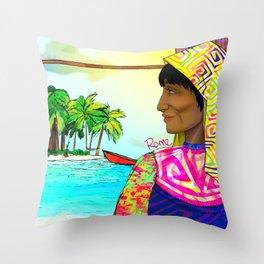 Gunadise Throw Pillow