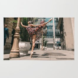 Photography « Dancer on the street » Rug