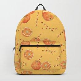 orange juice _ light Backpack