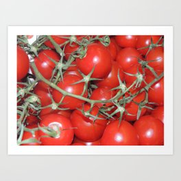 Cherrys Tomatoes Art Print
