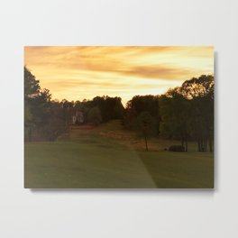House Down the Way Metal Print