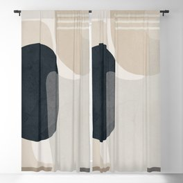 Abstract Geometric Art 52 Blackout Curtain