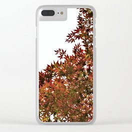 Changing of Seasons Clear iPhone Case