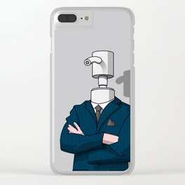 BusinessDispenser Clear iPhone Case