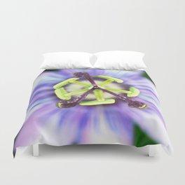 Peace Flower Duvet Cover