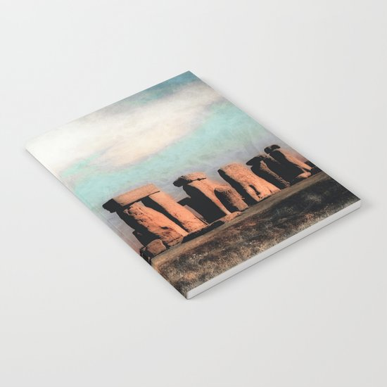 Mysterious Stonehenge Notebook