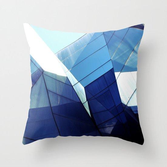 Diamond Glasses Throw Pillow