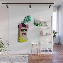 Heisenberg Can sticker format Wall Mural