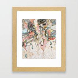 Mind-drawing Doodling Art Framed Art Print