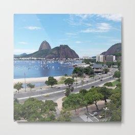 Rio de Janeiro Landscape Metal Print