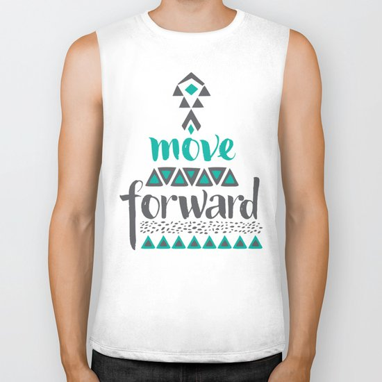Move Forward Biker Tank