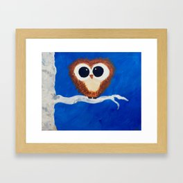 Big Eyes Framed Art Print