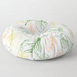 leaf series // no. 4 Floor Pillow