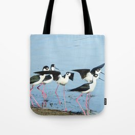 Hanging With Friends Tote Bag