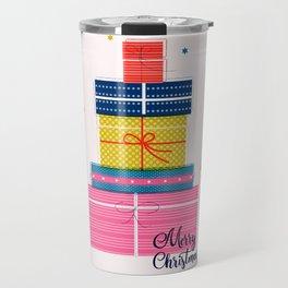 Pile of christmas presents Travel Mug