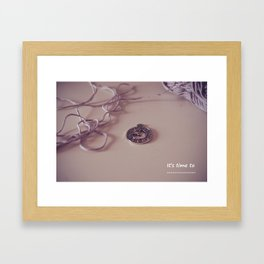 It's time to... Framed Art Print
