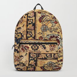 Tabriz  Antique North West Persian Silk Niche Rug Print Backpack