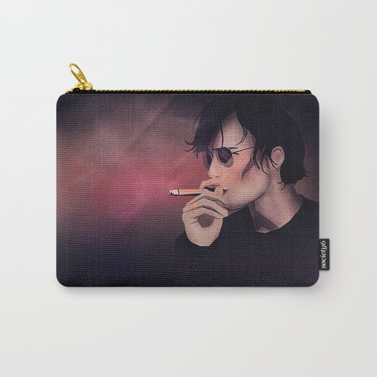 Smokey Man Carry-All Pouch