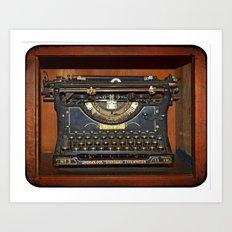 Typewriter2 Art Print