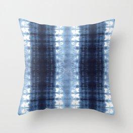 Neue Jersey Shibori Throw Pillow